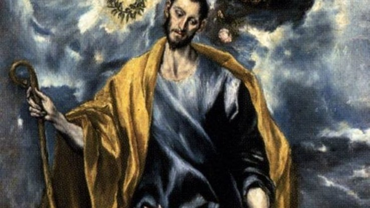 El Greco   St Joseph And The Christ Child